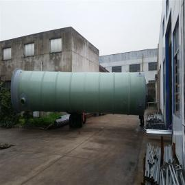 玻璃钢PLC智能一体化污水提升泵站