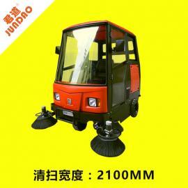 君道(JUNDAO)公园清扫树叶驾驶式扫地机出售KM-2100