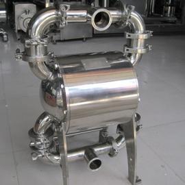 工博QBW果酱,食品酱食品级气动隔膜泵
