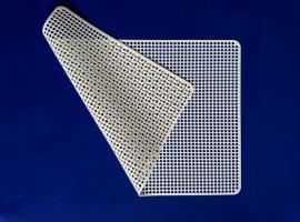 白色硅胶手机屏专用防静电防滑垫