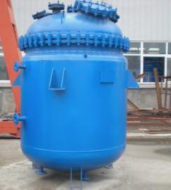 搪瓷高压反应釜AG官方下载AG官方下载,搪玻璃反应釜2000升