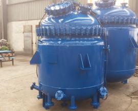 2000L电加热搪瓷反应釜AG官方下载,电加热搪玻璃反应釜