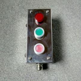 言泉 FZA-G-A2D1 不锈钢带故障指示灯防水远方启停按钮盒