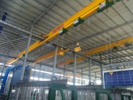 热浸镀锌生产线用的镀锌用起重机 纽科伦起重