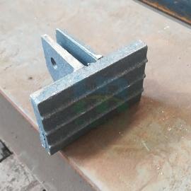 磨煤喷粉机配件喷煤机锤头耐磨铸钢磨锤定制