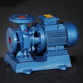 工博卧式单级单吸管道离心泵ISW,IHW