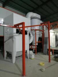 大旋风自动循环除尘设备/双工位滤芯粉末回收系统