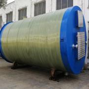 玻璃钢一体化污水提升泵站简介和组成