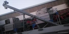 160型垂直绞龙上料机 煤矿用螺旋输送机生产商