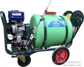 KIRISHIMA雾岛CSH160手推式高压动力喷雾机,高压打药机
