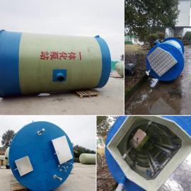 地埋式消防一体化泵站 智能一体化泵站 玻璃钢一体化预制泵站