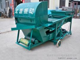 小xinggu物自动筛选机//玉米去糠除烂zi筛杂机