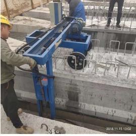 自动行走凿毛机 梁场空心板凿毛机 预制场快速凿毛机