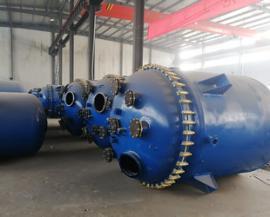 5000升搪瓷反应釜AG官方下载AG官方下载,耐压耐温搪瓷釜