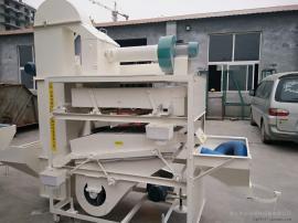 黄豆种子qing选机--移动式麦子种子筛fen机