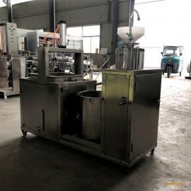 时产100斤豆腐机 全自动豆腐机电蒸汽加热 家用豆腐机