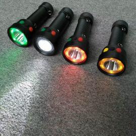 言泉电气SM-7024铁路信号手电LED红黄白信号灯