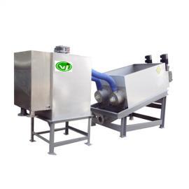 养猪污水处理粪水分离叠螺机,不锈钢叠螺式污泥脱水机