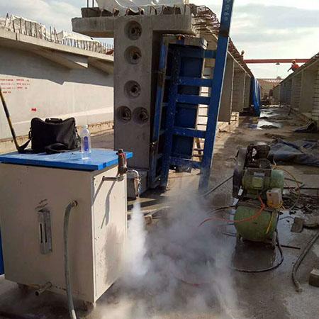 全自动桥梁养护器电蒸汽养护器视频指导