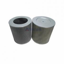 玻纤棉空气过滤芯 玻璃纤维折叠滤芯 玻纤除尘滤筒300*300