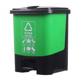 16升小容量办公室客厅客房垃圾桶医院诊所分类桶物业分类桶