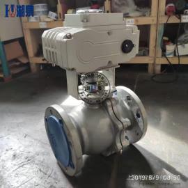湖泉(HQ)电动调节型铸钢球阀Q941F-16C