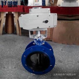 湖泉(HQ)电动法兰式软mi封蝶阀D941X-10C