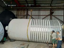 30立方ju乙烯酸碱储罐反渗透塑料水箱
