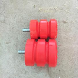 澳尔新行车防撞聚氨酯缓冲器 JHQ-A型螺栓防撞器JHQ-A-6