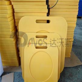 机械设备液压支架垫板 机械设备防滑垫板 UPE垫板垫块