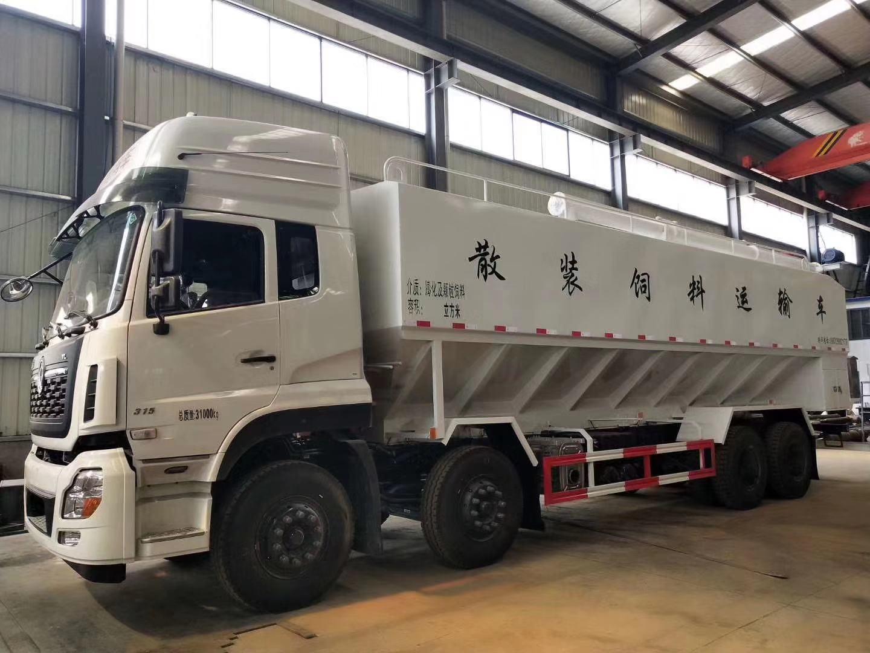 温氏集团制定采购散装饲料车运输车程力汽车