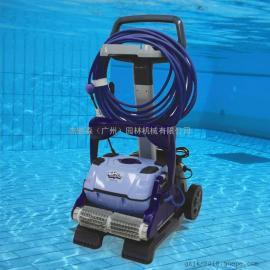 海豚2002水池清洗机 全自动池底水龟 游泳池吸污机