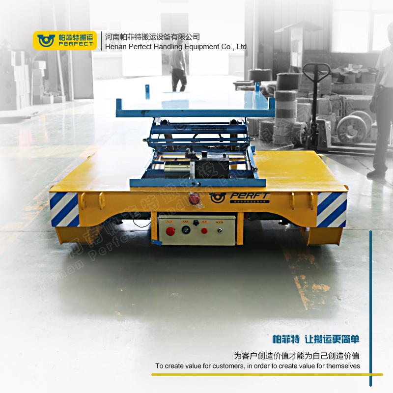 PERFT电动液压升降车 定制厂区工件水平运输设备电动平车BWP