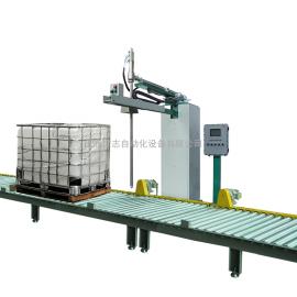 广志灌装机IBC桶树脂液体全自动灌装线GZM