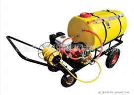 300L手推式机动喷雾机 美神45泵打药车 高压农用打药车喷雾机