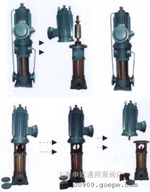 80PBGDL36-12X8低噪音立式多级屏蔽泵