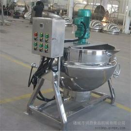 可倾式夹层锅 立式夹层锅 食品加工设备 夹层锅 液化汽夹层锅