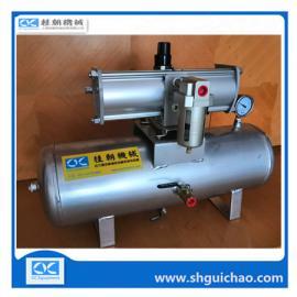 热流道增压泵 模具压缩空气增压泵 SMC气体增压器