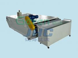 磁性分离器与弧网过滤机组合 弧网式纸带过滤系统