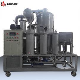 通瑞46号抗磨液压油真空滤油机 化工企业专用除杂滤油机ZJR-T-50