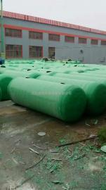 玻璃钢化粪池30立方米隔油池10吨玻璃钢化粪池