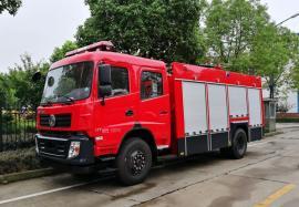JDF5150GXFSG60/A水罐消防车 国五东风D913 6吨水罐消防车