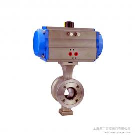 气动V型球阀VQ647H
