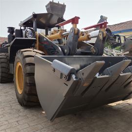 932卧式矿井装载机 铲重3吨矿用装载机 带安全顶棚视野宽阔