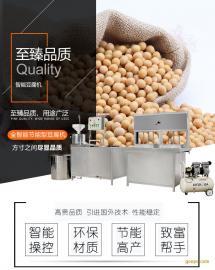 自动豆腐机生产视频 鑫丰做豆腐成套设备 十年保修