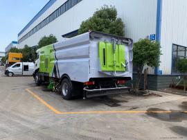 国六湿扫车高速公路洗扫车制造厂