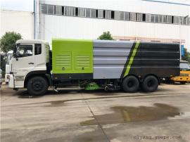 国六25吨无尘洗扫车高速公路洗扫车配置