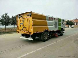 国六18吨煤矿场洗扫车码头洗扫车参数