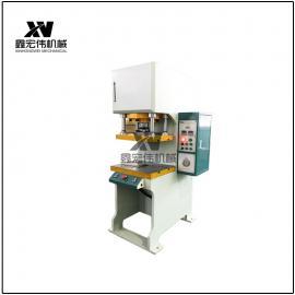 xian货 100吨单柱式液压机 C型jingmi压装机 全自dongshu压装机