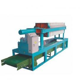 贝邦环保630型液压一次性拉开压滤机 污泥压滤机